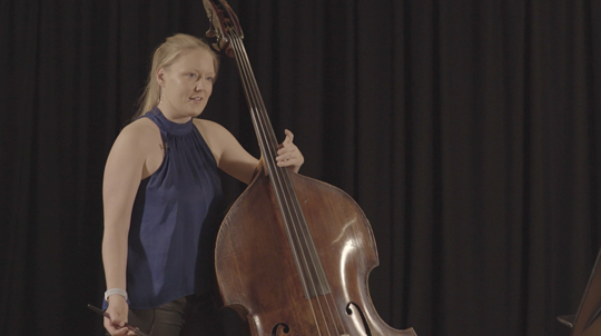 Rossini — Une Larme: Tutorial with Phoebe Russell, Double Bass