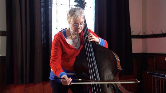 Ep.2: Bowing - Double Bass Technique Lesson with Christine Hoock