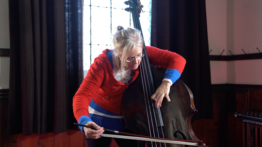 Ep.1: Warming Up - Double Bass Technique Lesson with Christine Hoock