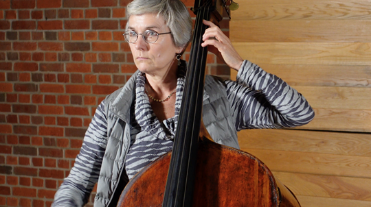 Frère Jacques: Played by Cathy Elliott, Double Bass