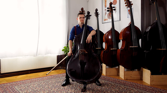 Koussevitzky — Double Bass Concerto: Tutorial with Dominik Wagner, Double Bass. Part 1 of 10 (Mov. 1)