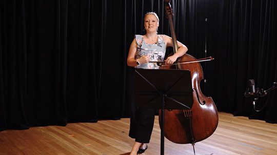 Beethoven — Symphony No. 9: Tutorial with Phoebe Russell, Double Bass. Part 1 of 25 (Introduction)
