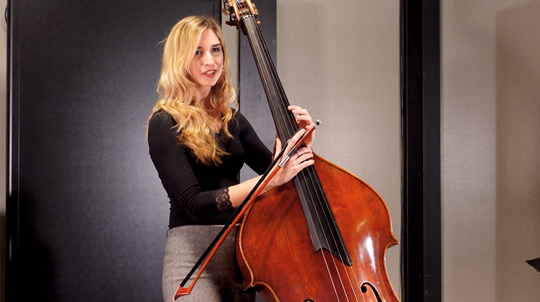 Rachmaninov — Vocalise: Tutorial with Alessandra Avico, Double Bass. Part 1 of 2